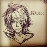 [Deadlox] 4 minutes pen sketch by HoldSpaceShift