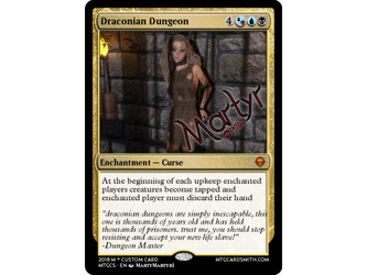 draconian dungeon MTG card by sexybeast315