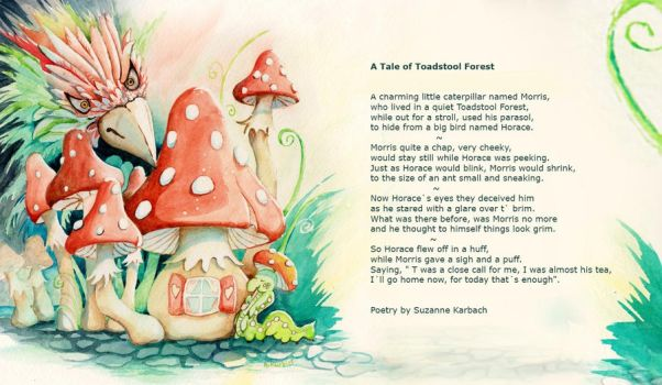 A Tale of Toadstool Forest by Supach