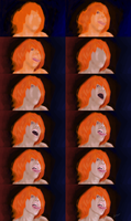 Process - The Girl with the Long Tongue by Over9000Desu