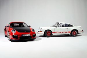 Porsche 997.2 GT2 RS and 2.7 Carrera RS by Alex230
