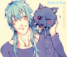 Aoba and Ren by suzanna8767