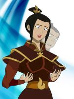 Sokka the fire bending princess?! by KayTheYatagarasu