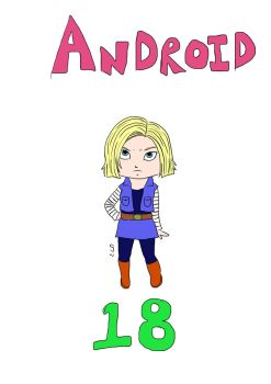 Android 18 by xxTwilightDreamzxx