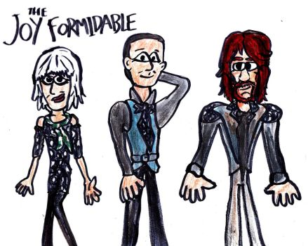 The Joy Formidable by SonicClone