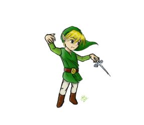 Toon Link by MagiMas