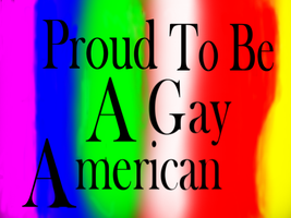 proud to be a gay american by Furrymuscle