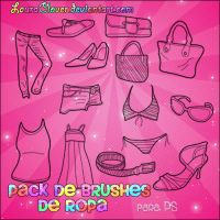 Brushes de ropa by LauraClover