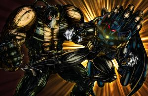 Bane vs. Azrael by WV-Films