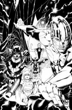 Earth2 Society 1 cover by PauloSiqueira