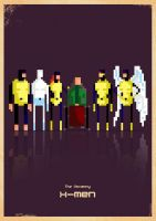 X-Men 8-bit by capdevil13