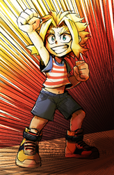 Toshinori shounen by 0okamiseishin