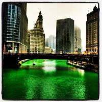 Green Chicago River by bgfilly