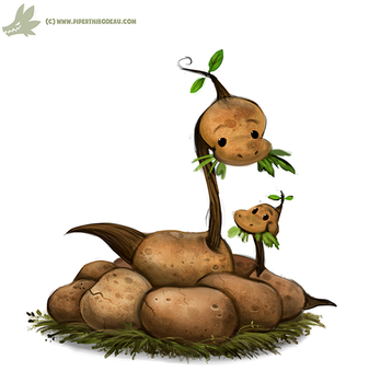 Daily Paint #1079. Apotatosaurus by Cryptid-Creations