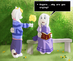 Undertale - Flowers for you by TC-96