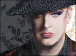 Boy George by miagustafssonart