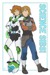Voltron: Science Sibs! by kayshasiemens
