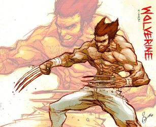 Wolverine_the_ripper by scabrouspencil