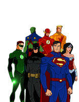 JLA:The New 52 Animated by kyomusha