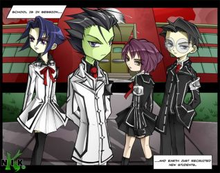 Invader Zim - Mutual Insanity by Krusnik007