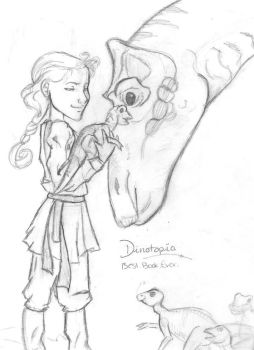 Dinotopia sketch by Savvy-Gal