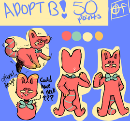 Adoptable B (Closed) by OddFrieLovesYou