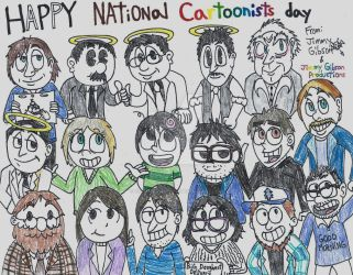Happy National Cartoonists day! by CelmationPrince