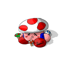 Kirby Power Toad by Buci01