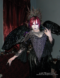 Queen of the Corvids Costume 14 by MorganCrone