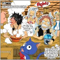 Fairy Tail Food Fight by gotrei