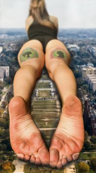 Laying In Washington... by GTSX3D