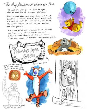 The Many Adventures of Winnie the Pooh by littlereddog