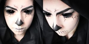 Angel of Death Makeup 2 by SelyaMakeup