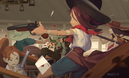 Saloon Shootout by Chilimanic
