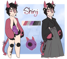 Shinji Ref by JessiiRoo