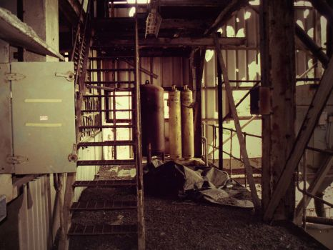 Semi Derelict Factory by Magpie101