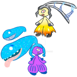 Mawile retypes by Latonay