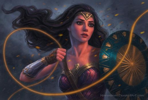 Wonder Woman by marurenai