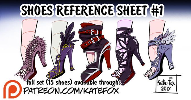 Shoes set 1 by Kate-FoX