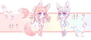 [OPEN 1/2 ] StellarFoxes auction by Seraphy-chan