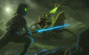 Fighting the Antlions by Montano-Fausto