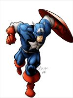 Captain America Colors by rkw0021