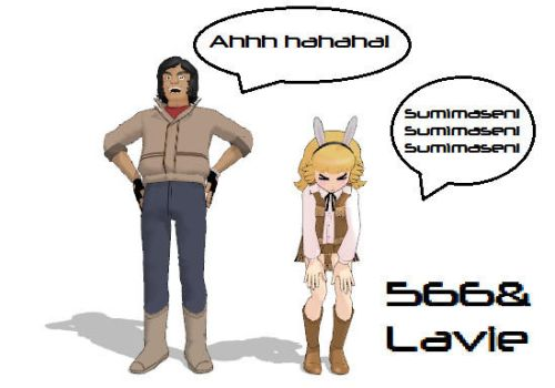 Lavie And 566(MMD) by Dream-Paint