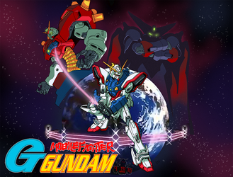Mobile Fighter G-Gundam by GundamMeister