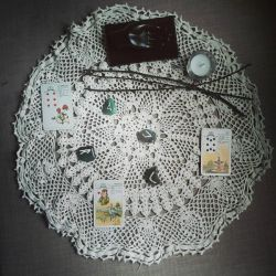 Doily 2 by WitchLadyArtisan