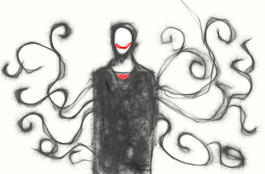 slenderman sketch thing by DrappingMalice
