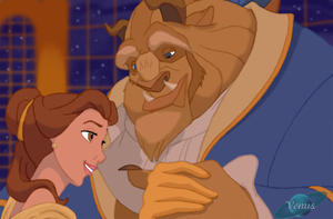 Beauty and the Beast by ViridianVenus
