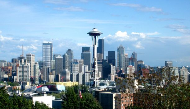 Space Needle by Jomann18