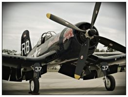 Vought F4U Corsair II by Csipesz