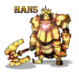 Hans - the Iron Knuckle by Gafagear